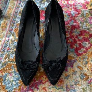 Delman kitten heels